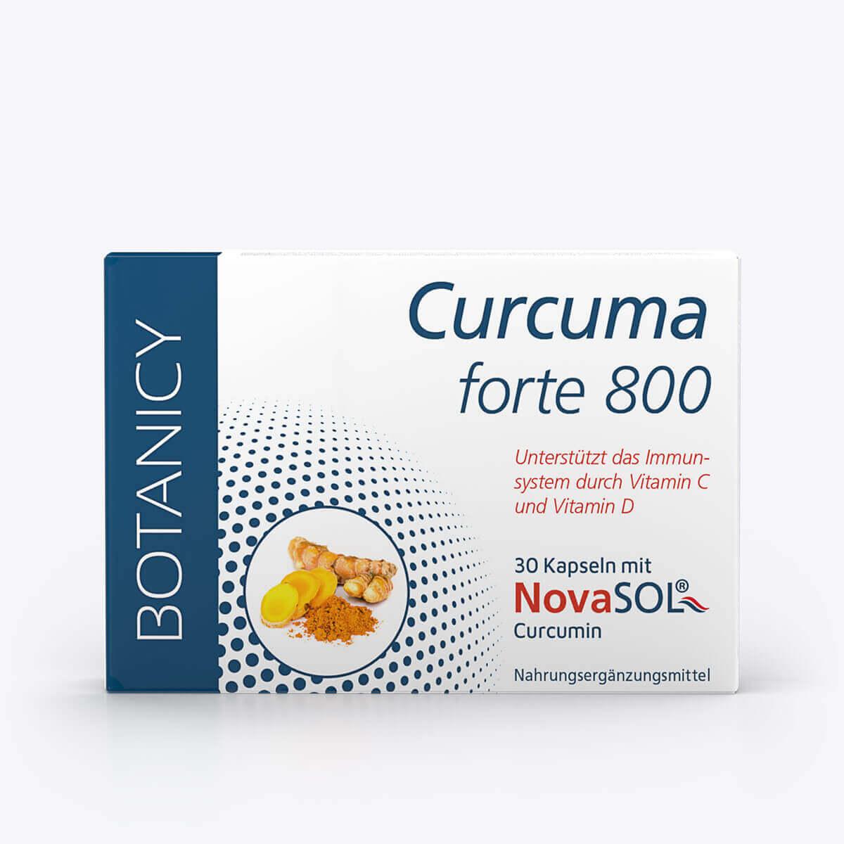 CURCUMA forte 800 mit NovaSol Curcumin