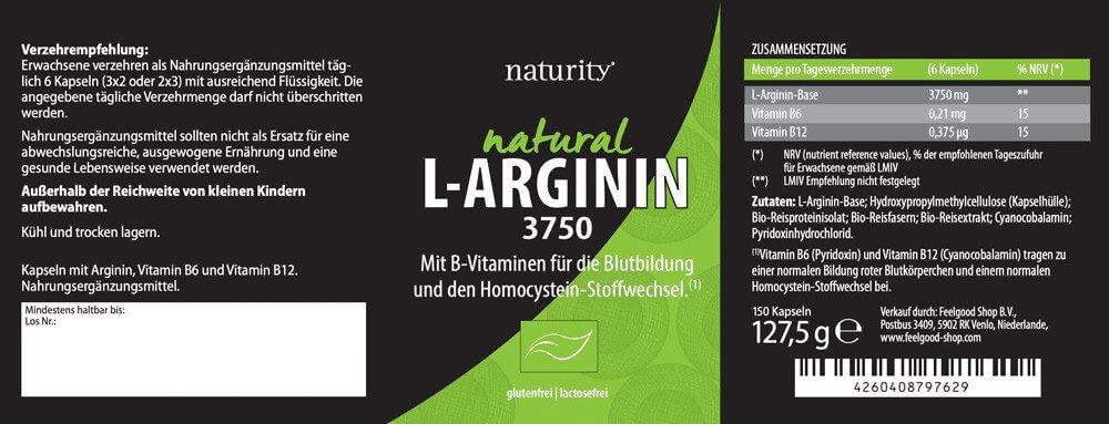 L-ARGININ 3750