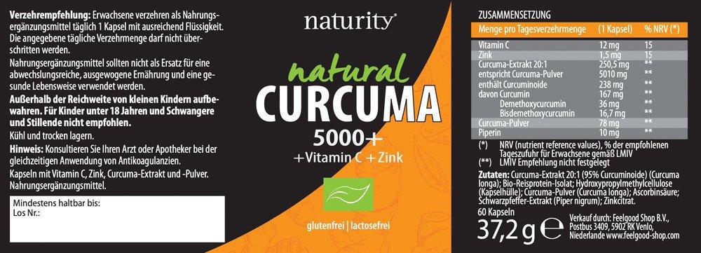 CURCUMA 5000+