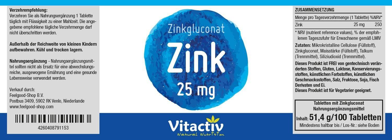 ZINK 25 mg