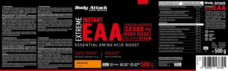 EXTREME INSTANT EAA - Orange