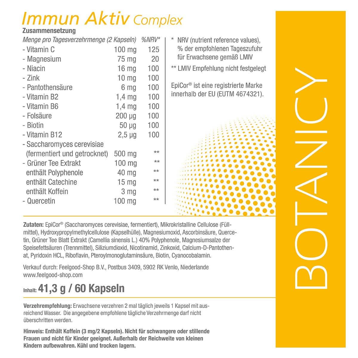 IMMUN aktiv Complex mit EpiCor®