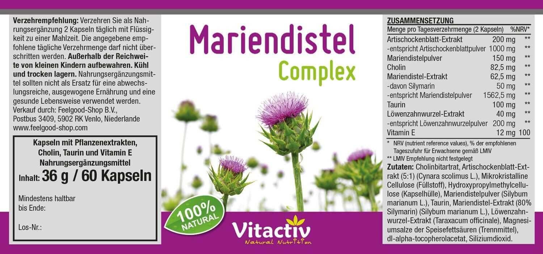 Mariendistel Complex