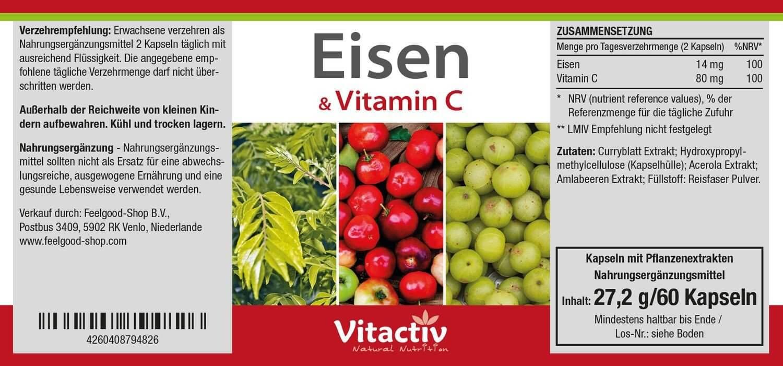 EISEN & VITAMIN C