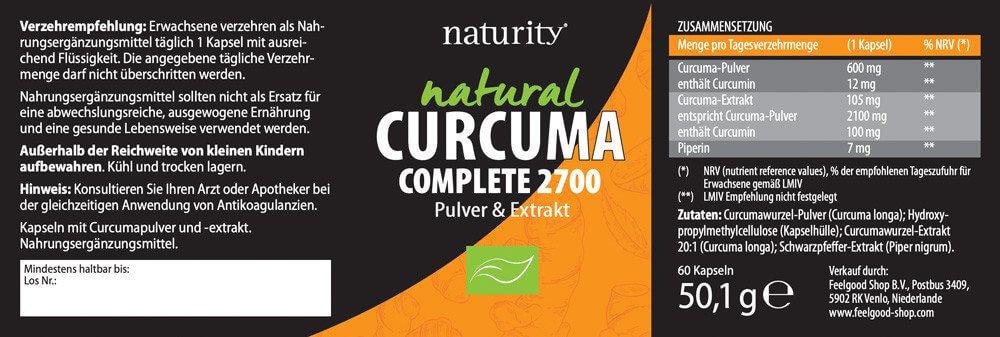 CURCUMA Complete 2700