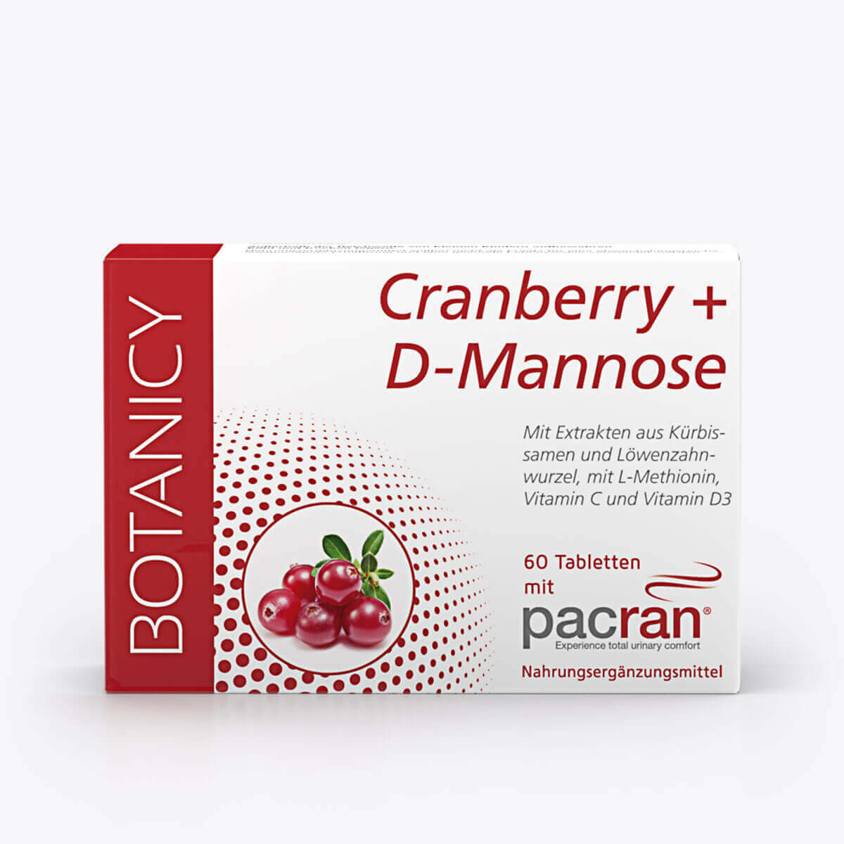 CRANBERRY + D-MANNOSE