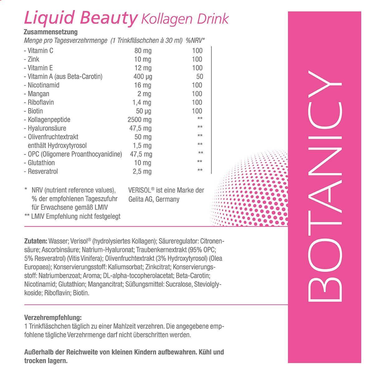 LIQUID BEAUTY Kollagen Drink
