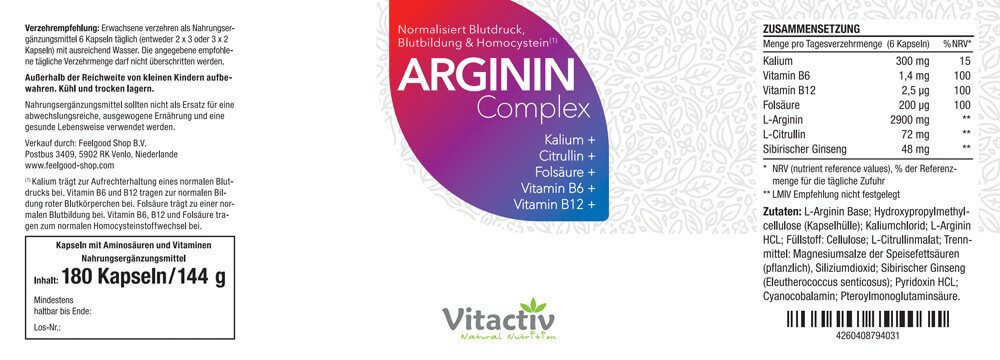 ARGININ Complex