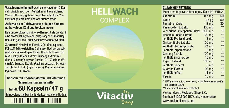 HellWACH Complex Energizer