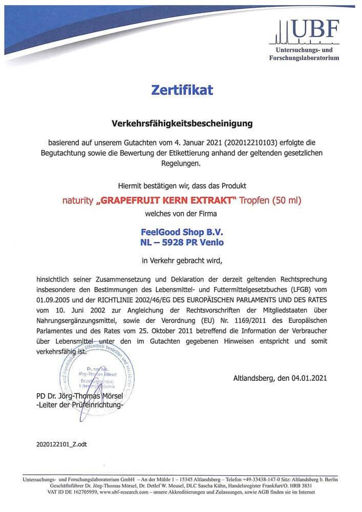 GRAPEFRUIT-KERN-EXTRAKT + Vitamin C 1200 BIO - 50 ml