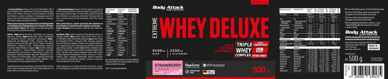 EXTREME WHEY  DELUXE - Strawberry Cream