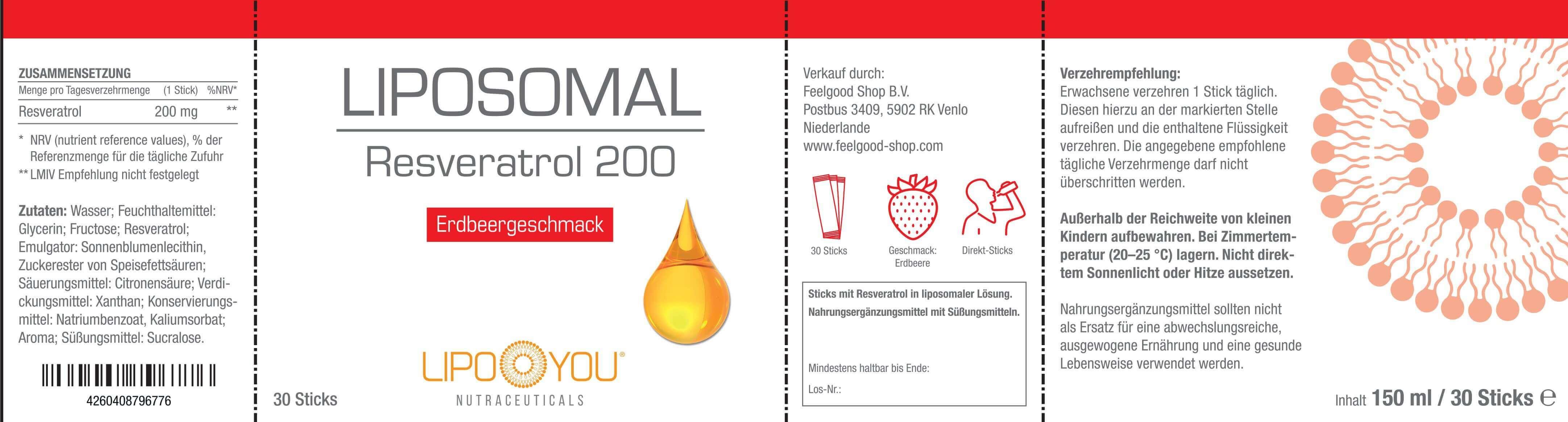 LIPOSOMAL Resveratrol 200