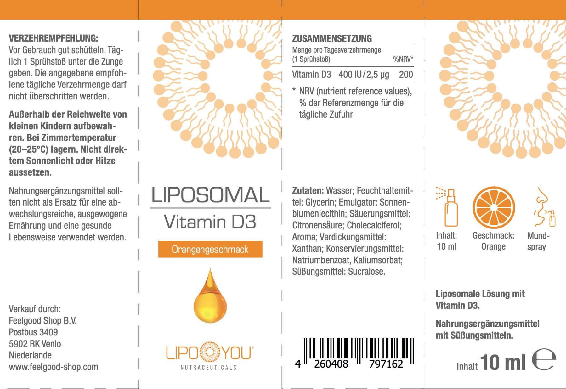 LIPOSOMAL VITAMIN-D3-Spray
