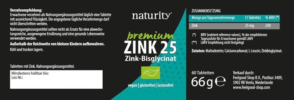 PREMIUM ZINK 25