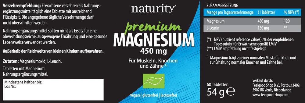 PREMIUM MAGNESIUM 450