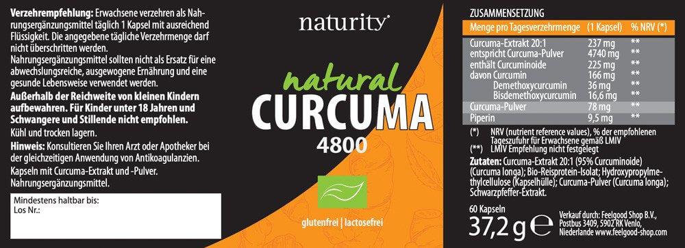CURCUMA 4800