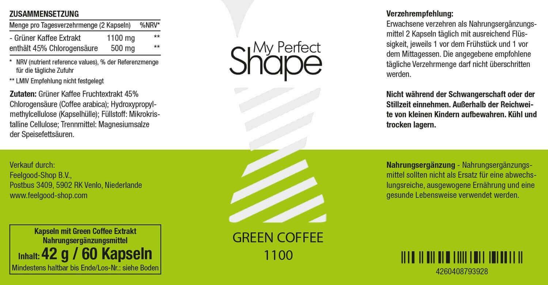 GREEN COFFEE 1100