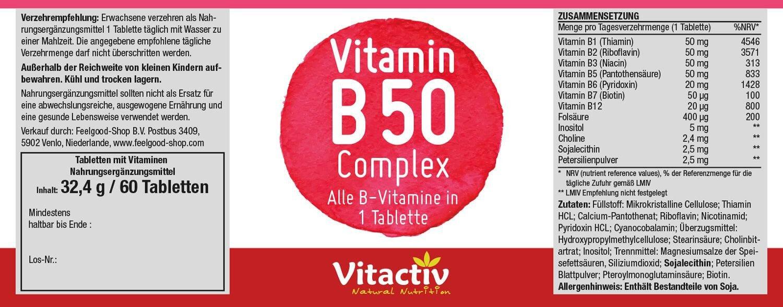 VITAMIN B 50 Complex
