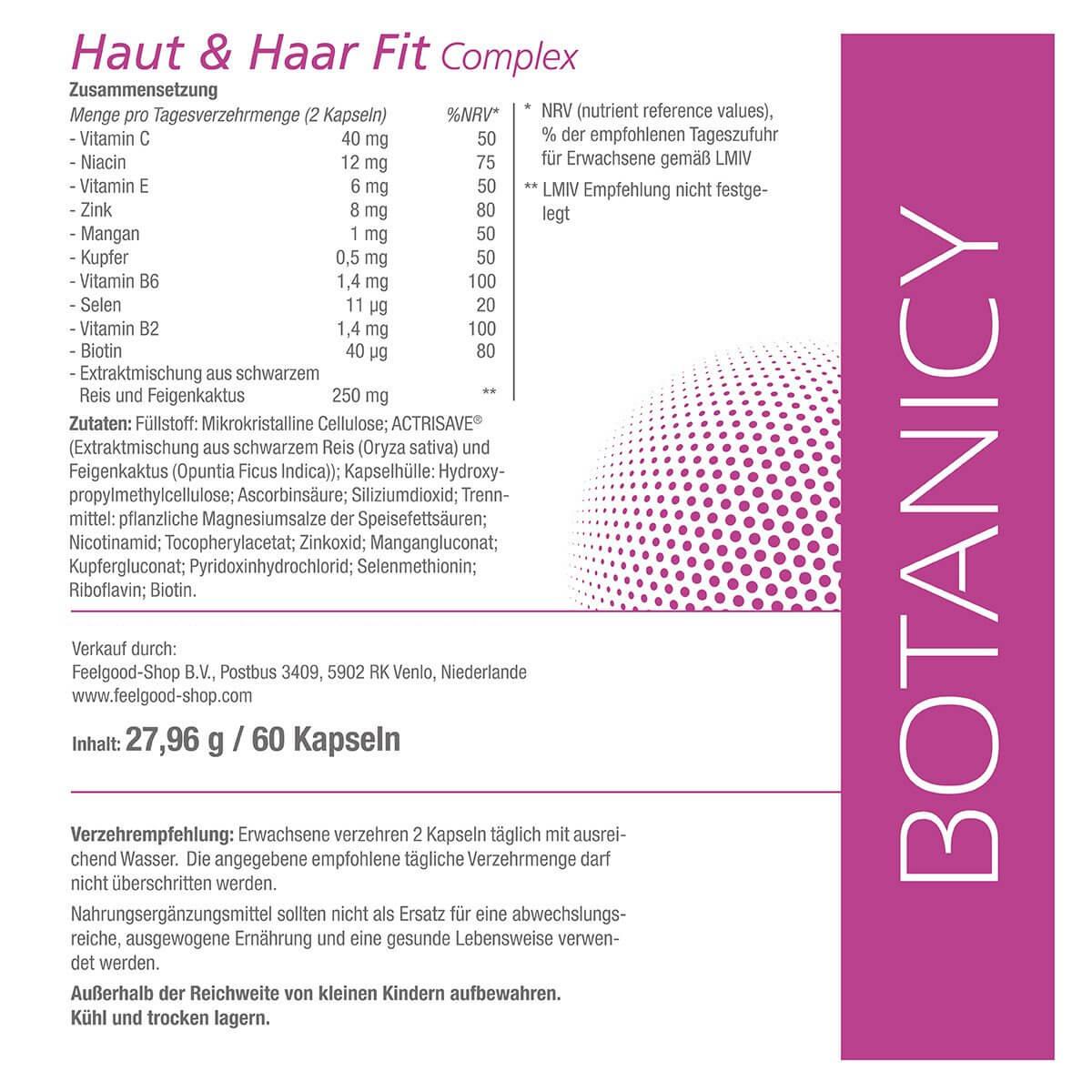 HAUT & HAAR FIT Complex mit Actrisave®