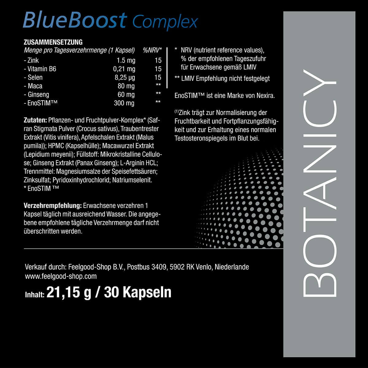 BLUE BOOST Complex