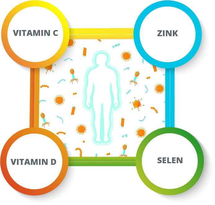 100-Tage-Immun-Paket + Selen