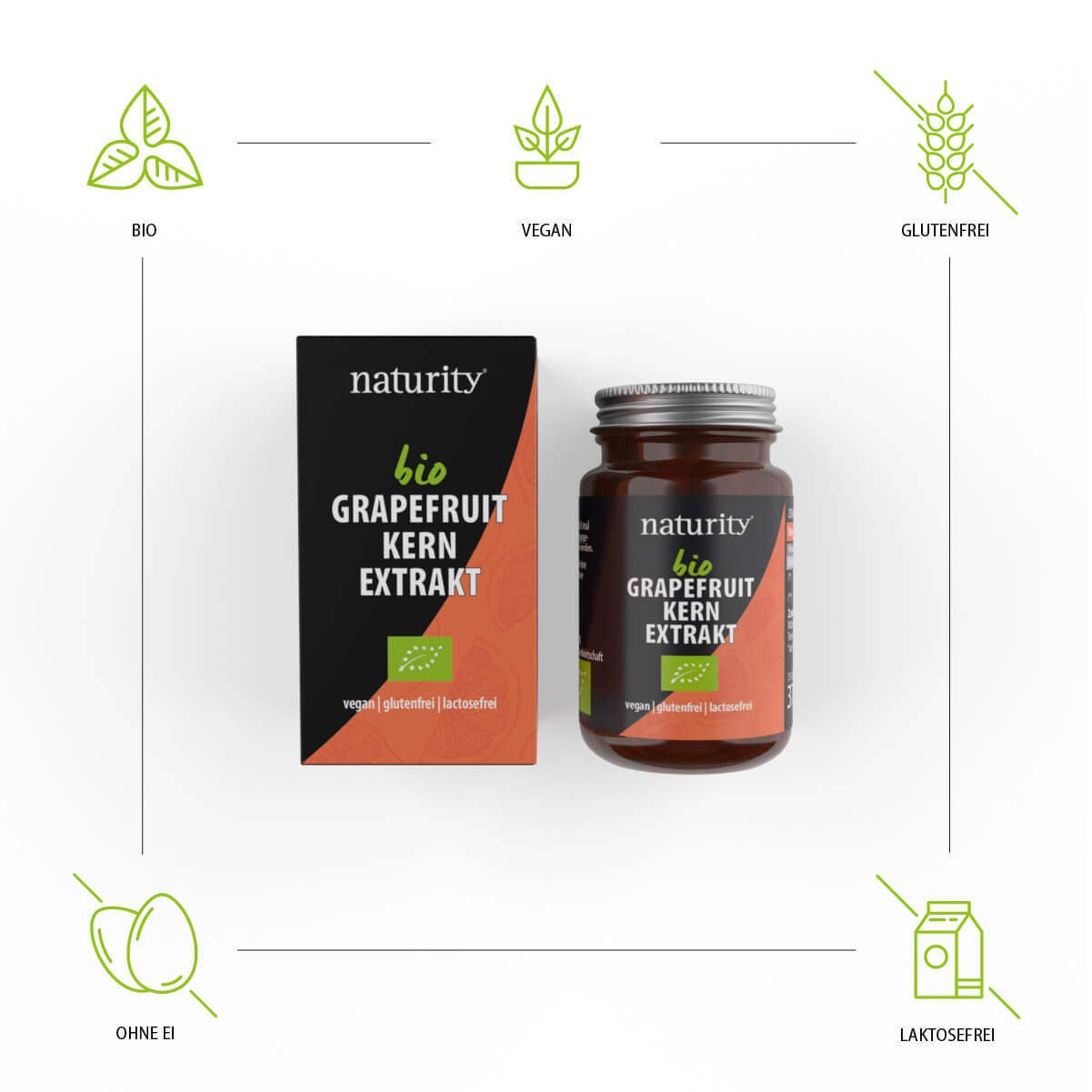 GRAPEFRUIT-KERN-EXTRAKT Tabletten + Vitamin C BIO