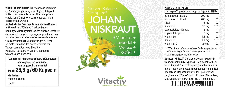 JOHANNISKRAUT - Nerven Balance Complex