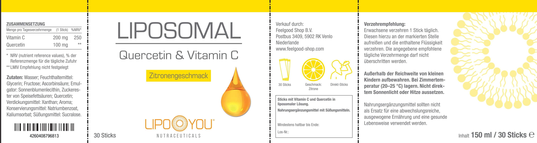 LIPOSOMAL Quercetin & Vitamin C