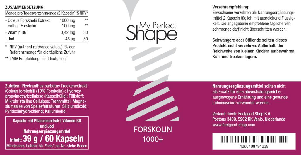 FORSKOLIN 1000+