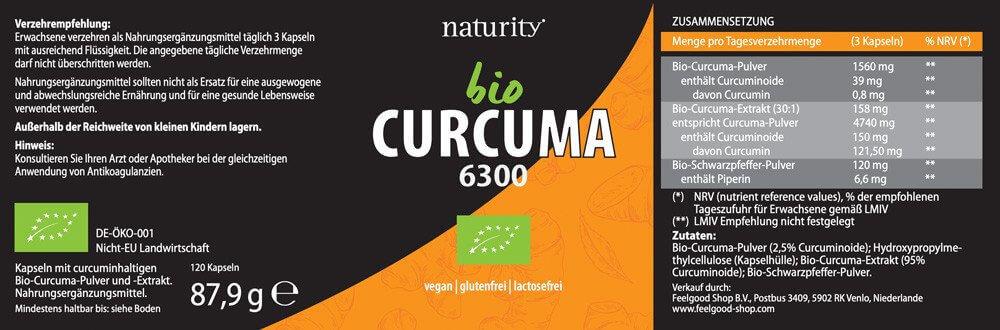 BIO CURCUMA 6300