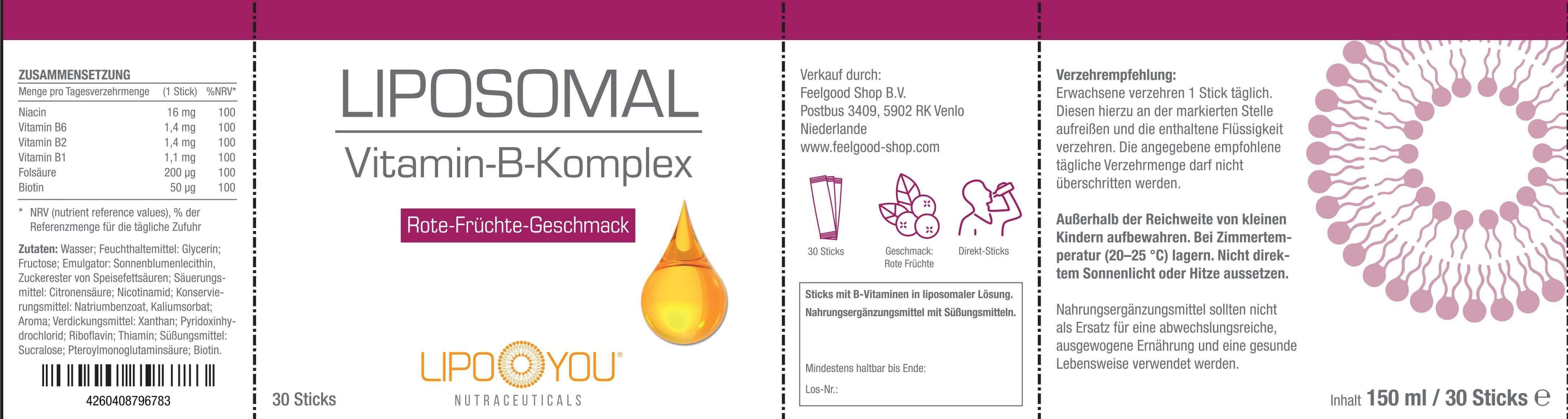 LIPOSOMAL Vitamin-B-Komplex
